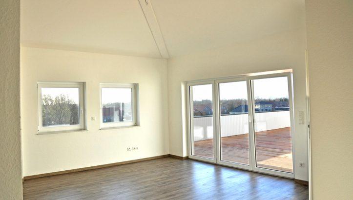 moderne penthouse wohnung, penthouse-wohnung in veenhusen - real immobilien, Design ideen